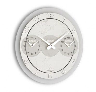 Orologio da parete moderno Momentum Tre Ore da Incantesimo Design
