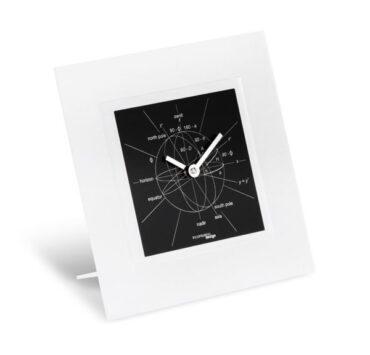 orologio da tavolo Astronomiae di color nero da Incantesimo Design