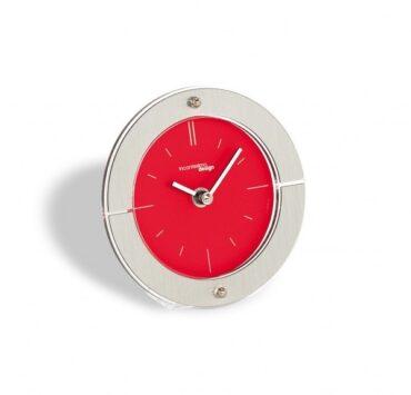 orologio da scrivania Fabula di color metal rosso da Incantesimo Design