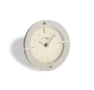 orologio da scrivania Fabula di color metal tortora da Incantesimo Design