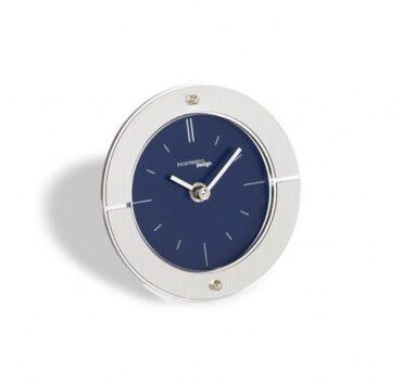 orologio da scrivania Fabula di color metal blu da Incantesimo Design