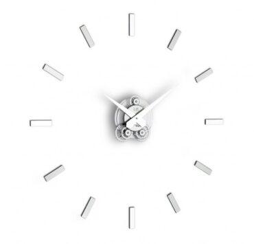 Orologio da parete Illum di color metal da Incantesimo Design