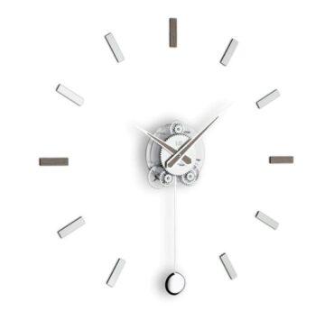 orologio a pendolo Illum di color grigio alevè da Incantesimo Design