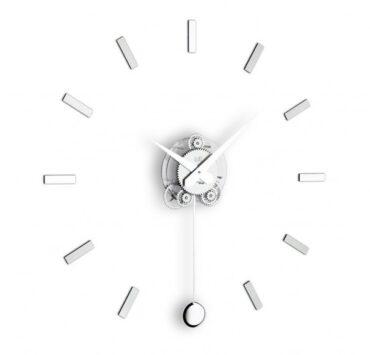 Orologio a pendolo Illum di color metal da Incantesimo Design