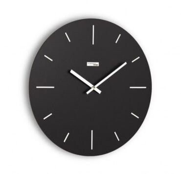 orologio da parete Omnia di color nero da Incantesimo Design