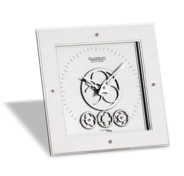 Orologio da tavolo Quantum di forma quadrata da Incantesimo Design