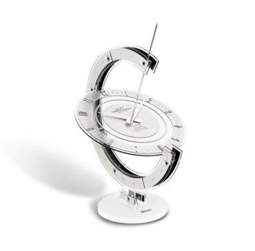 Modern table clock Greenwich Armillare da Incantesimo Design