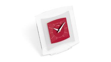 orologio da tavolo quintus color vinaccia da Incantesimo Design