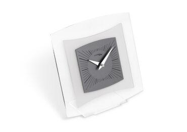 orologio da tavolo quintus color grigio fumo da Incantesimo Design