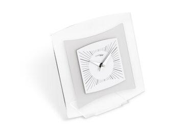 orologio da tavolo quintus color bianco da Incantesimo Design