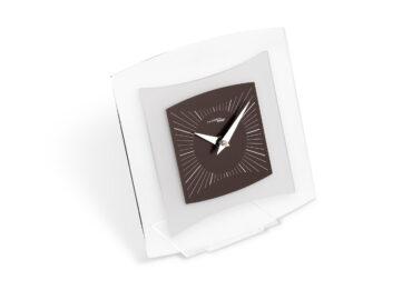 orologio da tavolo quintus color cioccolato da Incantesimo Design