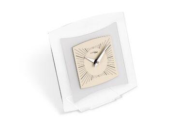 orologio da tavolo quintus color tortora da Incantesimo Design